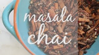 Diy Masala Chai Mix