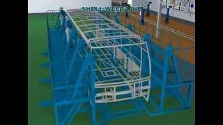 Video Nhà máy lắp ráp xe bus