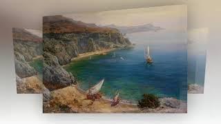 Крымские морские пейзажи Сергея Свиридова