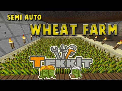 Download Minecrtaft Tekkit Redpower Wheat Farmer Mp4 & 3gp