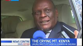 The crying Mt.Kenya: Uhuru warns against 2022 succession politics