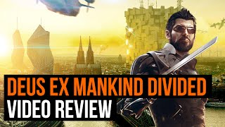 Deus Ex Mankind Divided video review