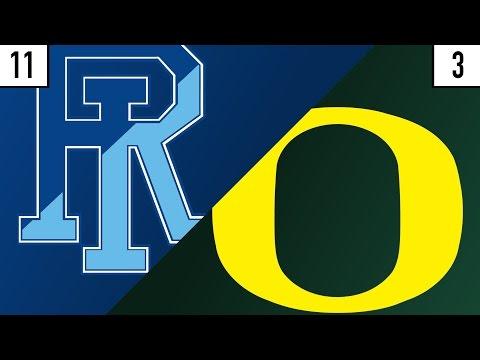 11 Rhode Island vs. 3 Oregon Prediction | Who's Got Next?