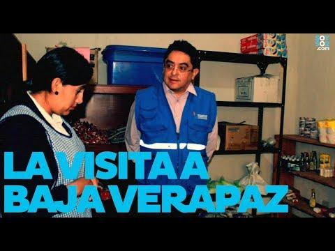 Jordan Rodas habla de su visita a Baja Verapaz