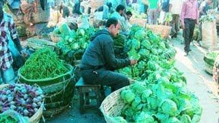 Vegetable Market in Guwahati, Assam