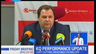 KQ records an improved operating profit