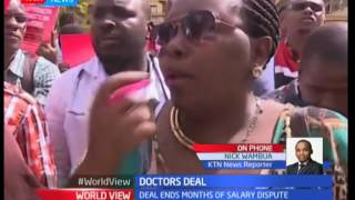 Doctors sign CBA with government ending salaries dispute