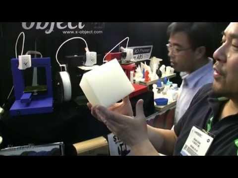 Prezentare video Printer 3D UP Plus