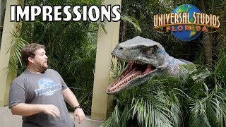 Never Roar at a Raptor - Universal Florida Impressions