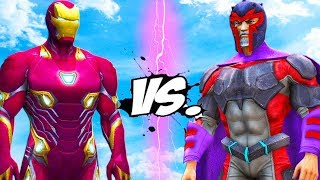 IRON MAN (Mark 50) vs MAGNETO (Uncanny Avengers) - Avengers VS X-Men
