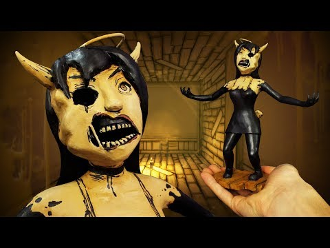 Making Alice Angel from Bendy and the Ink Machine Chapter 3