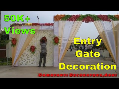 mp4 Decoration Wedding Gate, download Decoration Wedding Gate video klip Decoration Wedding Gate