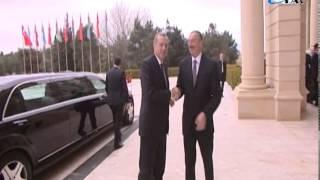 Премьер-министр Турции Реджеп Тайиб Эрдоган встретился с Президентом Ильхамом Алиевым