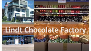 Virtual tour of Lindt  factory in Aachen/ Where to buy Lindt chocolates at low prices/Indian Vlogger