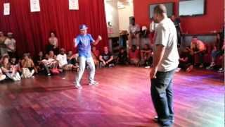 Salah vs Stockos - IBE 2012 UK Champs Popping qualifier
