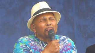 Aaron Neville at Jazz Fest 2018-05-04 VOODOO, MIDNIGHT RIDER, A CHANGE GONNA COME