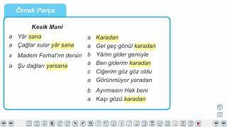 Eğitim Vadisi 10.Sınıf TDE 9.Föy Halk Edebiyatı Şiiri 1 Konu Anlatım Videoları