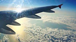 A320 посадка в Симферополе/A320 landing in Simferopol