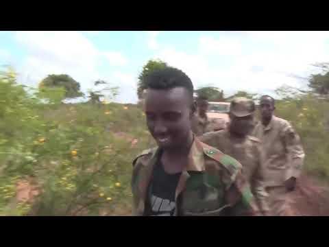 Muuqaal Kumaandooska xoogga Soomaaliya oo bur buriyay Saldhiga ugu weyn ee Shabaab.