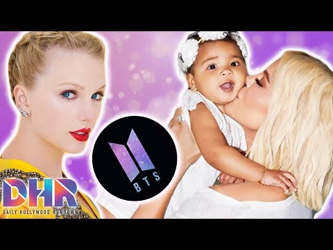 BTS & Taylor Swift Fans FURIOUS Over Grammy Noms! Khloe Kardashian & True Launching New Show? (DHR)