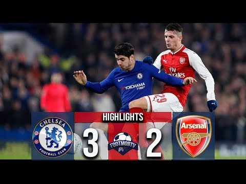 Chelsea vs Arsenal 3-2 All Goals & Highlights 2018