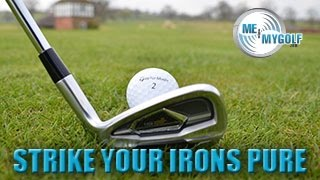 Strike the Golf Irons Pure Every Swing Part 1