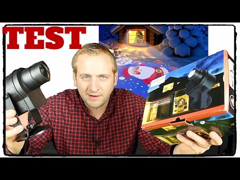 ❌WEIHNACHTSBELEUCHTUNG AM HAUS ( TEST / REVIEW ) ACRATO DIY LED Projektionslampe