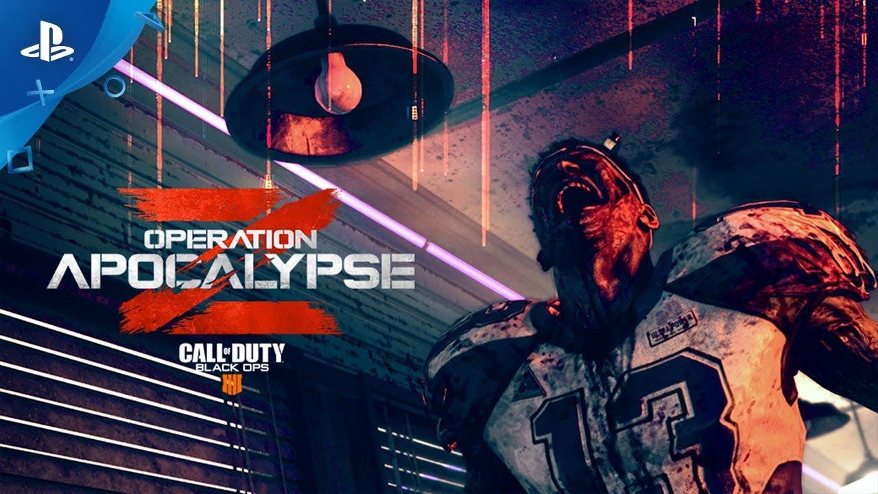 Operation Apocalypse Z de Call of Duty: Black Ops 4 Chega ao PS4 em 9 de Julho