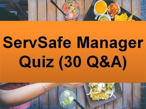 ServSafe Manager Quiz (30 Questions and Answers) - YouTube