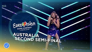 Jessica Mauboy - We Got Love - Australia - LIVE - Second Semi-Final - Eurovision 2018