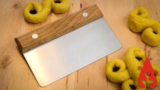 Making a dough cutter/scraper