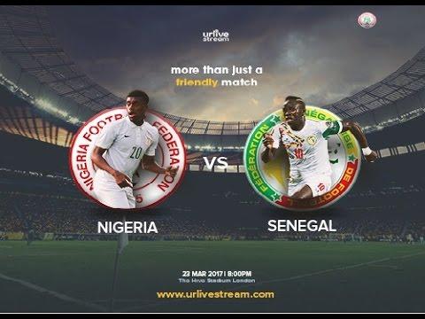 Nigeria VS Senegal (1 -1)  Extended Highlight  23-03-2017