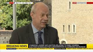 Damian Green Mp Discusses Brexit And A Possible Snap Election