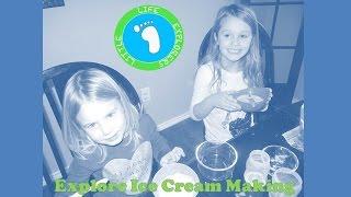 Fun-Sized Fridays: Explore Ice Cream Making