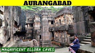 AURANGABAD TOURIST PLACES in Tamil | Ellora Caves | Tamil Travel Vlog
