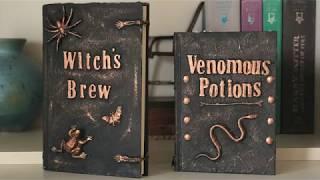 Spell Book DIY - Halloween Decorations