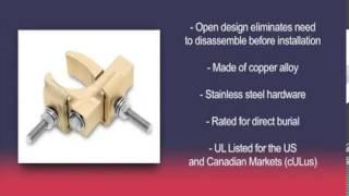 Burndy:SuperClamp Installation video