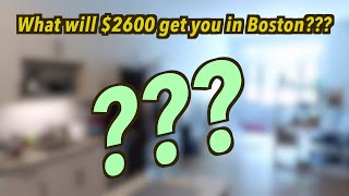 Sweet Digs: What apartment $2600 a month will get you in BOSTON? *new apartment tour boston*