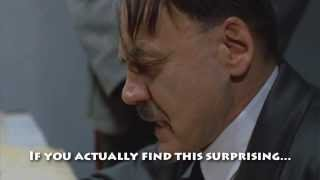 Hitler finds out about Justin Bieber's DUI arrest and #FreeBieber