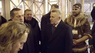 Губернатор Вячеслав Шпорт посетил Дальневосточную ярмарку в Москве