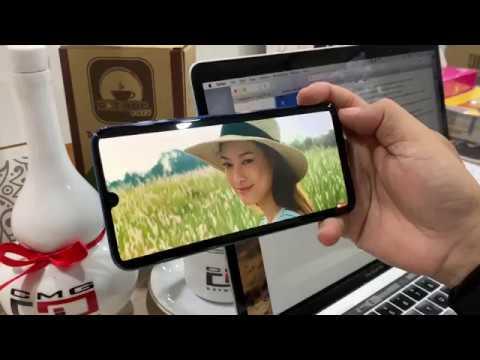 Khui hộp Samsung Galaxy A50 chính hãng giá dưới 7tr, test thử vân tay dưới màn hình