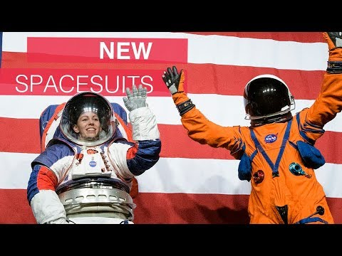 NASA introduces new spacesuits for Moon and Mars missions.