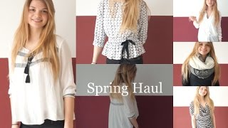 Fashion Spring Haul