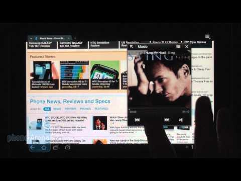 0 Samsung TouchWiz UX für Android 3.1 Honeycomb im Video demonstriert Google Android Samsung Software