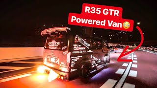 JAPANESE YAKUZA GANGSTERS & R35 GTR POWERED HIACE VAN! *TOKYO NIGHTS*