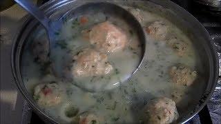 Kotlety pulpety z kurczaka drobiu w sosie koperkowym  jak zrobić na obiad #filmykulinarne