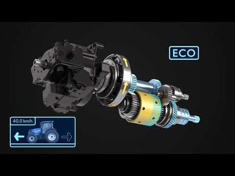 New Holland T5 Auto Command™ CVT transmission
