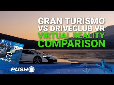 Gran Turismo Sport PlayStation VR Gameplay: DriveClub VR Comparison   PSVR   PS4 Pro Footage