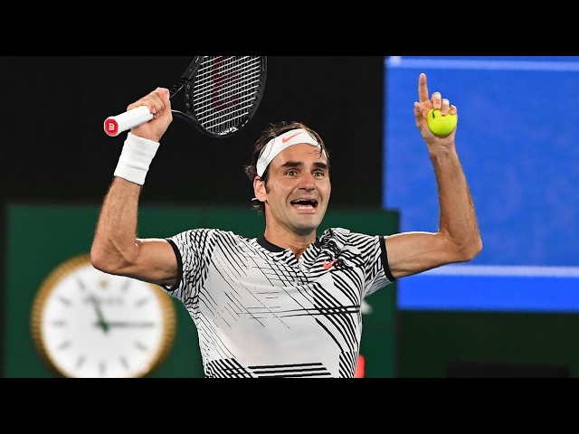 the best of Roger Federer