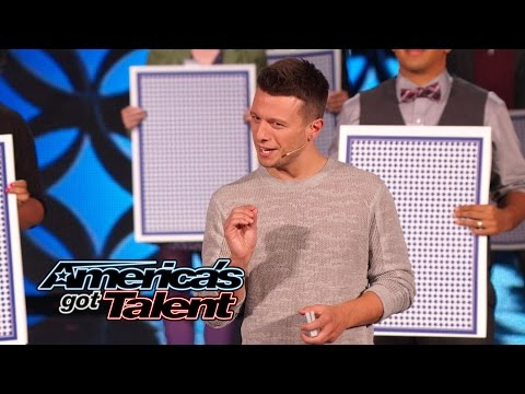 Mat Franco: Mind-Blowing Performance From Last Magician Standing - America's Got Talent 2014 Finale (видео)
